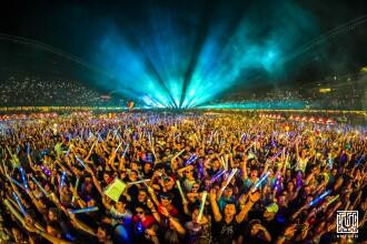 A început marea distractie UNTOLD. 300.000 de oameni, în cele 4 zile şi 4 nopţi de concerte