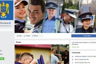 Decizia luată de Poliția Română după ce a primit 50.000 de rating-uri de o stea pe Facebook