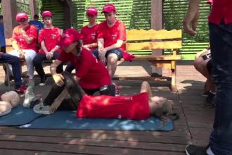 Zeci de elevi din Botoşani au parte, timp de o săptămână, de o tabără inedită