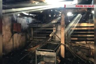 Incendiu de proporții la o brutărie. 6 autospeciale au intervenit