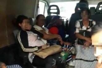 Recordul unui șofer din Bihor. Numărul de pasageri descoperit de polițiști în mașina cu 3 locuri