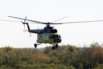 Tragedie aviatică în Rusia. 18 morți după prăbușirea unui elicopter. A ars în totalitate