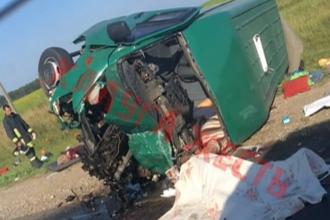 Accident grav pe o șosea din Rusia. Șase moldoveni și-au pierdut viața