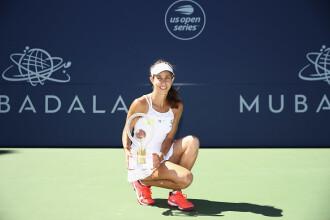 """Reacția Mihaelei Buzărnescu după ce a câștigat primul trofeu WTA: """"E ceva extraordinar pentru mine"""""""