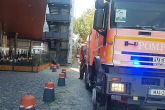 Incendiu într-un un mall din Constanţa. Peste 1500 de persoane au fost evacuate