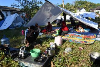 70.000 de persoane, fără adăpost după seismul din Indonezia. Imagini din dronă