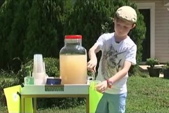 Surpriza unui băiat de 9 ani, jefuit de banii de buzunar, pe care îi strângea muncind