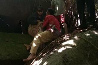 O femeie a fost ținută captivă timp de 15 ani într-o peșteră. Poliția a eliberat-o