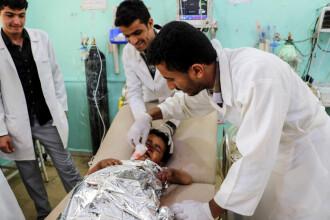 Autobuz care transporta copii, atacat în Yemen. Zeci de morți și răniți