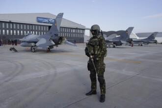 Avioane de luptă F-16 româneşti, trimise în Ucraina în contextul tensiunilor NATO-Rusia
