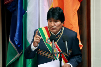 Preşedintele Boliviei, Evo Morales, a demisionat după o lovitură de stat