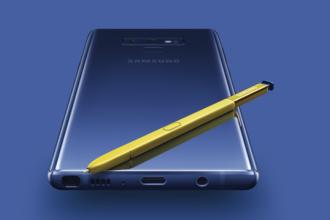 Galaxy Note 9 a fost lansat. Cât de mare e noul telefon de la Samsung