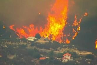 Zeci de mii de oameni evacuați din calea incendiilor devastatoare din California