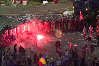 Cum s-au văzut incidentele de la protest în presa internațională