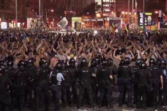 """Şeful Brigăzii Speciale a Jandarmeriei: """"Am încercat să fim cât mai puţin violenţi"""""""