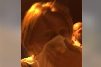 Momentul când Marius Manole se află printre cei atacați cu gaze lacrimogene. Mesajul actorului. VIDEO