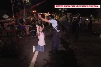 192 de plângeri împotriva jandarmilor, după violențele de la protest