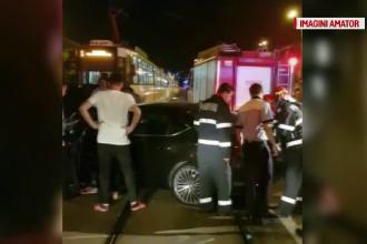 Accident în Capitală, după ce un șofer a pierdut controlul volanului. Starea bărbatului