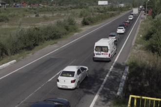 Șoferii de pe DN1, nervoși din cauza aglomerației: