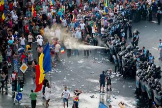 Numărul plângerilor înregistrate în cazul protestului din 10 august