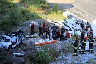 Zeci de morți, după ce un viaduct al autostrăzii A10 s-a prăbuşit lângă Genova