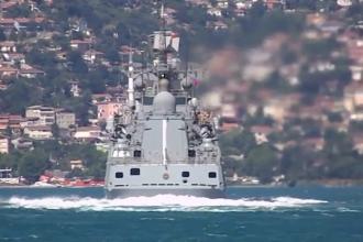 O fregată din Flota Rusiei a folosit muniție de război într-un exercițiu, în Marea Neagră