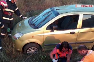 Un copil de 11 ani din Vâlcea a murit după ce a furat o mașină și s-a răsturnat