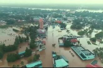 India, lovită de cele mai grave inundații din ultimul secol. Cel puțin 324 de morți