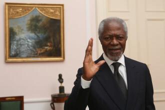 Kofi Annan, fost secretar general al ONU, a murit la vârsta de 80 de ani