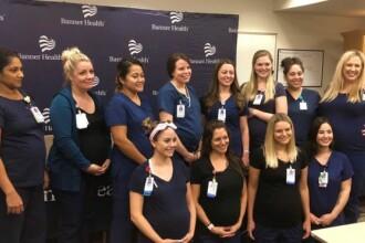 16 asistente de la același spital au rămas însărcinate în aceeași perioadă. Cum au descoperit
