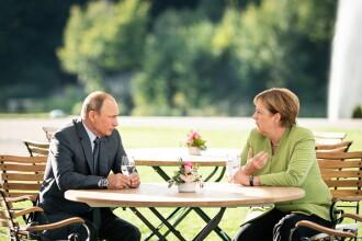"""Merkel: Germania își consolidează apărarea în fața """"războiului hibrid"""" desfășurat de Rusia"""