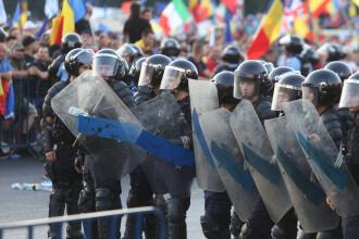 Polițiștii și procurorii au făcut percheziţii la 7 protestatari implicaţi în violenţele din 10 august
