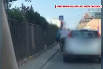 Doi şoferi s-au luat la bătaie într-o intersecție din Cluj. Incidentul a fost filmat