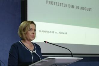 Carmen Dan, audiată în Parlament: Am precizat că nu sunt cea care stabilesc vinovăţii