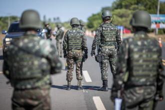 Brazilia a trimis trupe militare la graniţa cu Venezuela