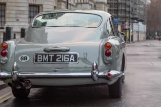 Aston Martin va produce în ediţie limitată celebra maşina din filmele cu James Bond