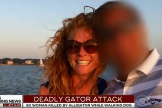 O femeie care a încercat să îşi apere câinele de un aligator a fost ucisă de reptilă