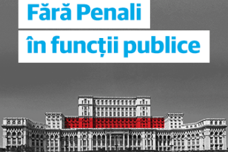 """Un milion de persoane au semnat inițiativa cetățenească """"Fără penali în funcții publice"""""""