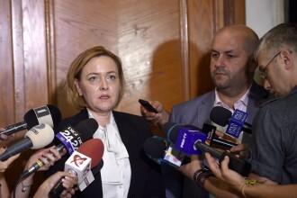 Explicaţiile date de Carmen Dan la Parlament: de ce şi-au ascuns jandarmii indicativele. Raportul intervenţiei, ţinut secret