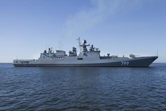 Navă de război rusă, urmărită de Marina Regală Britanică în Canalul Mânecii