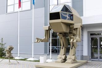 Kalașnikov a expus un robot militar și o nouă mitralieră. Reacția americanilor