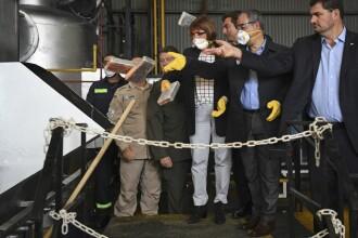 Aproape 400 de kilograme de cocaină, distruse la un crematoriu. Au fost ascunse în sediul unei ambasade