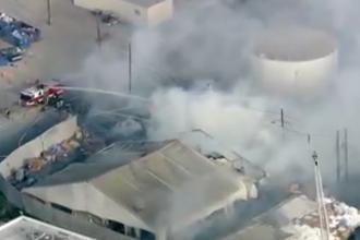 Incendiu la o fabrică Tesla din California. Mesajul postat de Elon Musk pe Twitter