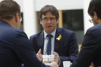 Carles Puigdemont, la prima vizită în străinătate de când nu mai e dat în urmărire