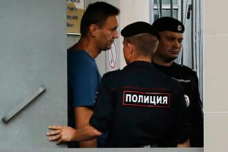 Opozantul rus Aleksei Navalnîi, condamnat să execute doi ani și opt luni de închisoare