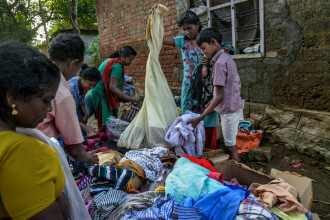 Nou bilanț al inundațiilor din Kerala. Numărul morților a ajuns la 445