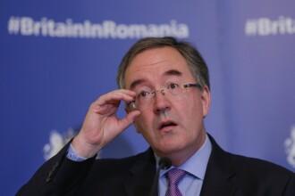 Noul ambasador al Marii Britanii, Andrew Noble, a vorbit în limba română la prima conferință de presă