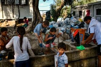 """Condițiile dure din Lesbos îi împing pe copii la suicid. """"E mai rău decât războiul din Siria"""""""