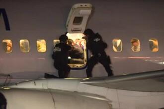 Exercițiu antitero cu agenți SRI la bordul unui avion TAROM, aflat în zbor