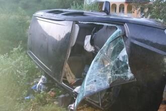 Accident în Bistrița. O femeie a murit, iar fiul său se zbate între viață și moarte
